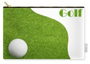 Golfiing Carry-all Pouch