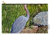 Goliath Heron By Water Carry-all Pouch