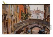Gondola On A Venetian Canal Carry-all Pouch