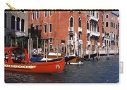 Gondolas In A Canal, Grand Canal Carry-all Pouch