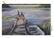Gone Fishin' Carry-all Pouch by Donna Tuten