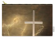 Good Friday In Sepia Texture Carry-all Pouch
