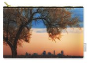 Good Morning Denver Carry-all Pouch by Darren  White