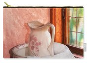 Good Morning- Vintage Pitcher And Wash Bowl  Carry-all Pouch