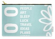 Good Things Blue Carry-all Pouch