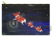 Goodnight Flowers Carry-all Pouch