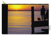 Goodnight Sun Carry-all Pouch by Karen Wiles