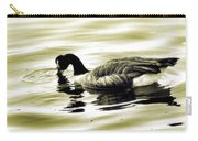 Goose Reflecting In The Water Carry-all Pouch