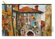 Gordes- Colorful Street Carry-all Pouch