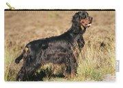Gordon Setter Dog Carry-all Pouch