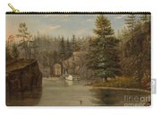 Gorge Of The St Croix Carry-all Pouch by Henry Lewis