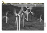 Gorge Windmills B W Carry-all Pouch