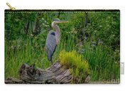 Gorgeous Heron Carry-all Pouch