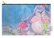 Gorilla Cartoon Carry-all Pouch