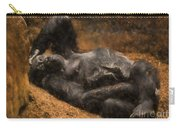Gorilla - Painterly Carry-all Pouch