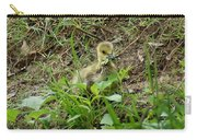 Gosling Chewing On Some Grass Carry-all Pouch