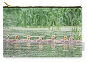 Goslings All In A Row Carry-all Pouch