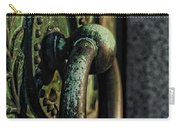 Goth - Crypt Door Knocker Carry-all Pouch by Paul Ward