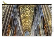 Gothic Architecture Carry-all Pouch by Adrian Evans
