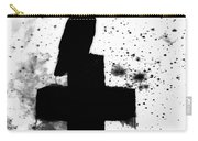 Gothic Black And White Carry-all Pouch