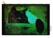Gothic Black Cat Carry-all Pouch