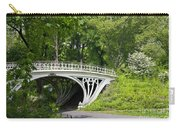 Gothic Bridge In Central Park Carry-all Pouch