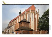 Gothic Church Of St. Catherine In Krakow Carry-all Pouch