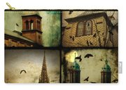 Gothic Churches And Crows Carry-all Pouch