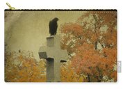 Gothic Fall Crow Carry-all Pouch
