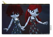 Gothic Rag Dolls Carry-all Pouch