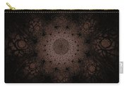 Gothic Stained Glass - Sepia Carry-all Pouch