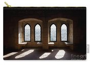 Gothic Windows Of The Royal Residence In The Leiria Castle Carry-all Pouch