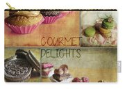 Gourmet Delights - Collage Carry-all Pouch
