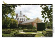 Governers Palace Garden Colonial Williamsburg Va Carry-all Pouch