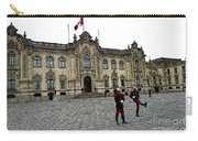 Government Palace Guards In Lima Carry-all Pouch