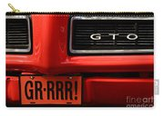 Gr-rrr Gto Carry-all Pouch