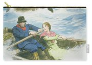 Grace Darling And Her Father Rescuing Carry-all Pouch