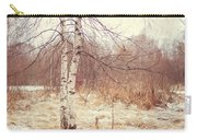 Grace In The Snow. Winter Poems Carry-all Pouch