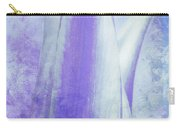 Graced Blossom In Lavender Carry-all Pouch