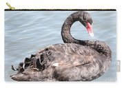Graceful Black Swan Carry-all Pouch