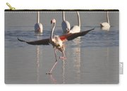 Graceful Flamingo Dance Carry-all Pouch