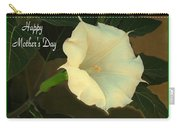 Graceful Moonflower - Happy Mother's Day Carry-all Pouch