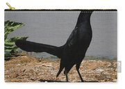 Grackle Posturing Carry-all Pouch