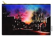 Graduate Housing Princeton University Nightscape Carry-all Pouch