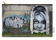 Graffiti Art Curitiba Brazil 1 Carry-all Pouch by Bob Christopher