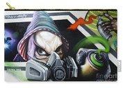 Graffiti Art Curitiba Brazil 18 Carry-all Pouch by Bob Christopher