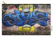 Graffiti Art Curitiba Brazil 7 Carry-all Pouch by Bob Christopher