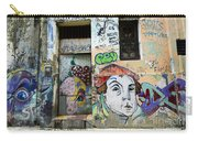 Graffiti Art Recife Brazil 16 Carry-all Pouch by Bob Christopher