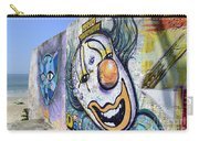 Graffiti Art Santa Catarina Island Brazil 1 Carry-all Pouch by Bob Christopher