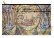 Graffiti Covered Cement Wall Carry-all Pouch